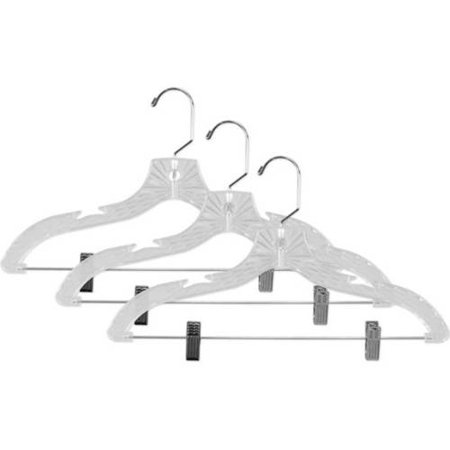 Sunbeam 3-Piece Crystal Hanger with Clips, Clear