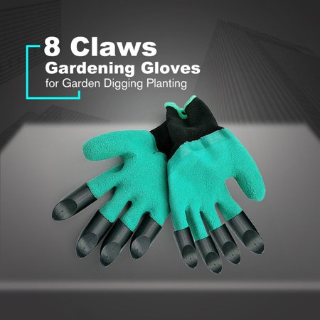 Gardening Gloves for Garden Digging Planting with 8 Claws Protection Gloves - image 8 of 11
