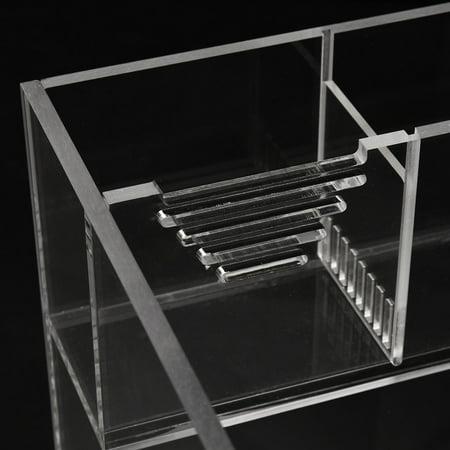 Moaere 5.5 Gallon Acrylic Desktop Aquarium Fish Tank Kit with Water Pump Filter Home Office Decor - image 3 de 13