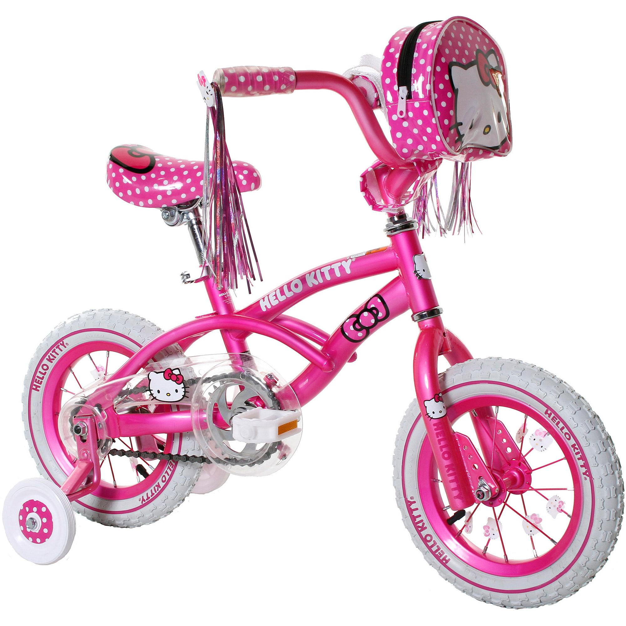 12 Hello Kitty Girls Bike Pink