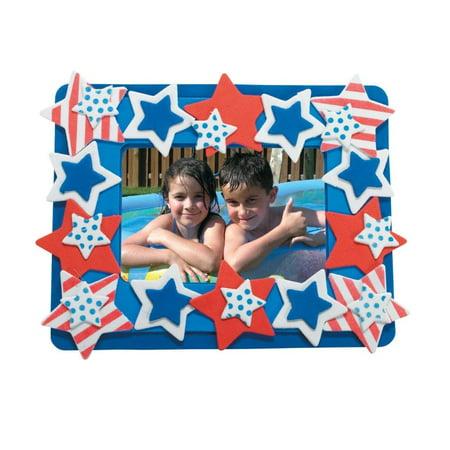 Patriotic Picture Frame Magnet Craft Kit