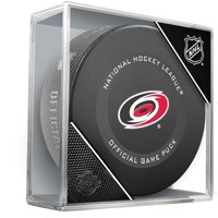 Carolina Hurricanes Unsigned InGlasCo 2019 Model Official Game Puck