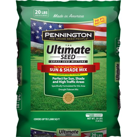 Image of Pennington Ultimate Sun and Shade Grass Seed South Mixture, 20 lb bag
