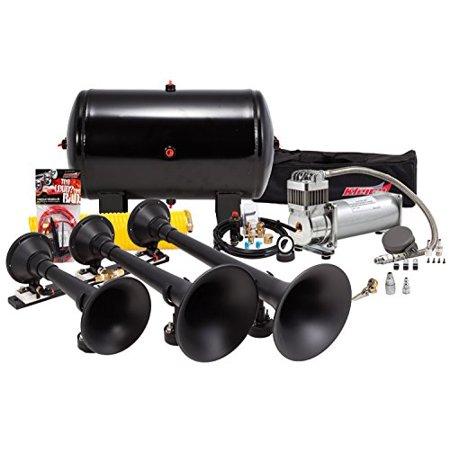 Kleinn Air Horns Hk9 Pro Blaster 150 Psi Triple Train Horn Kit
