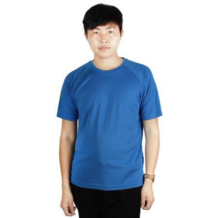 Men Running Short Sleeves Quick Dry Sports (Mens Running Shirt)