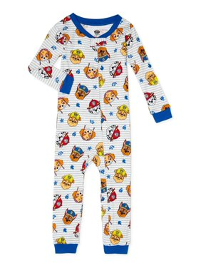 Paw Patrol Baby Boys & Toddler Boys 1-Piece Snug Fit Cotton Footless Pajamas (9M-5T)