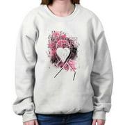 Breast Cancer Awareness Shirt Pink Ribbon Pray for Cure Gift Sweatshirt