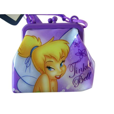 Disney Tinker Bell Coin Purse with Shoulder Strap (Disney Tinkerbell Purse)