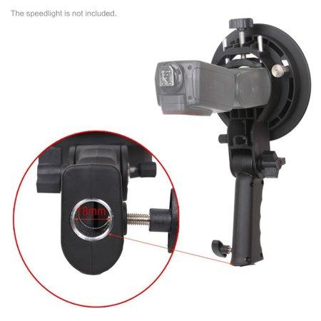 Bracket Pro Mount Adapter Holder for Speedlite Snoot Flash Softbox Hand grip - image 5 of 8