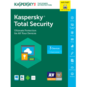 Kaspersky Total Security 2017 3-device