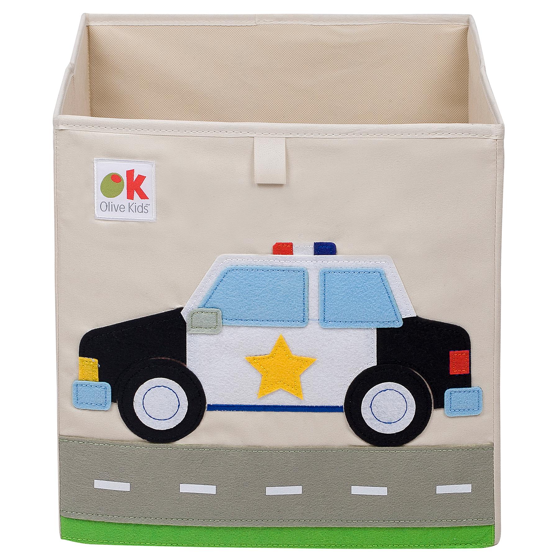 Olive Kids Police Car Storage Cube by Wildkin