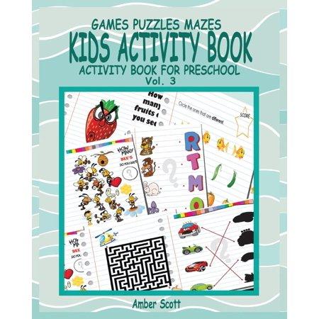 Kids Activity Book ( Activity Book for Preschool ) -Vol. 3