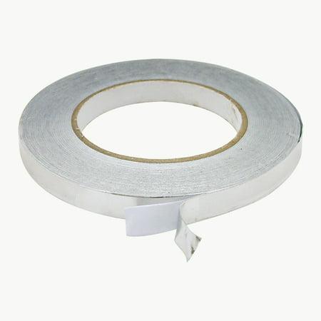 JVCC AF20 Aluminum Foil Tape: 1/2 in. x 50 yds. (Silver) ()