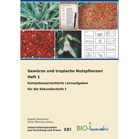 Gewürze und tropische Nutzpflanzen Heft 1 - eBook (Tropische Insel-wochenende)