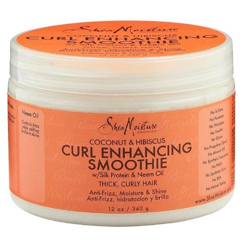 Shea Moisture Coconut & Hibiscus Curl Enhancing Smoothie 12 oz (Pack of 4)