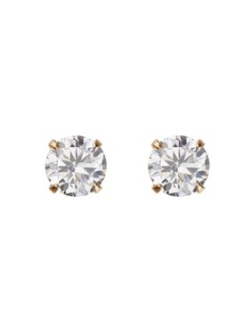 Product Image Simply Gold Kids 10k Yellow 4mm Cz Ball Stud Earrings
