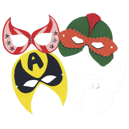 Roylco Superhero Masks, Pack of - Mask Superhero