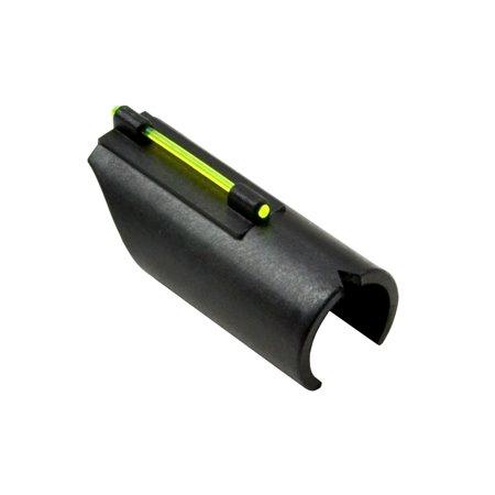 Sniper Shotgun Fiber Optic Front Sight For Unventilated   Plain Shotgun Barrels With Bead Sight   Green