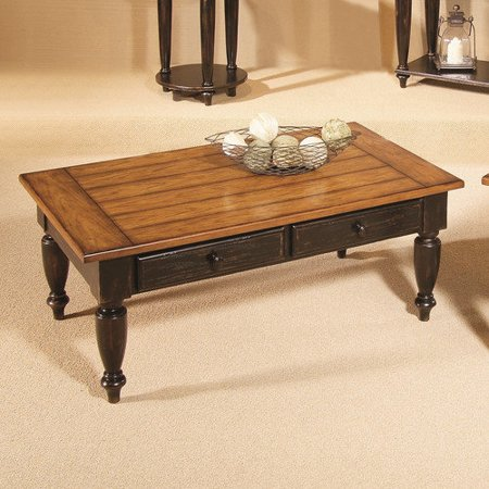 Progressive furniture inc country vista coffee table with for Coffee tables at walmart