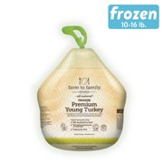 Butterball Farm-to-Family Frozen Young Turkey, No Antibiotics, 10 - 20.9 lb