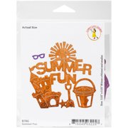 "Cheery Lynn Designs Die-Summer Fun, .25"" To 3.25"""