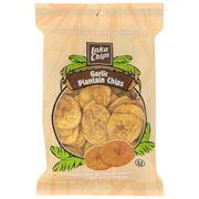 (12 Pack) Inka Crops Plantain Chips, Garlic, 3.5 Oz.