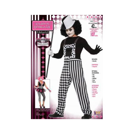 CO - CLOWN OVERALLS - STD (Costume With Overalls)