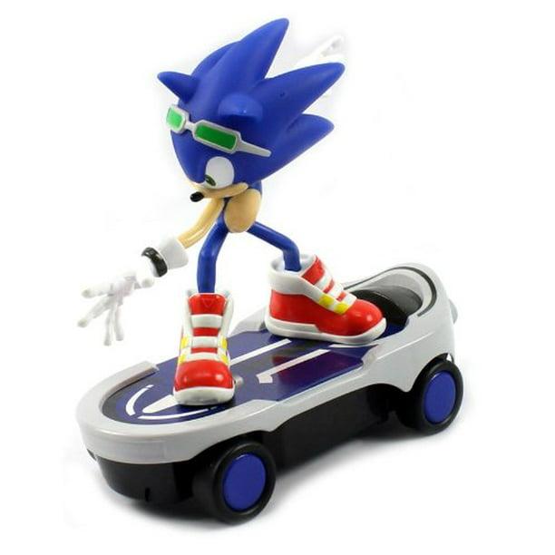 Sonic Free Riders Sonic The Hedgehog Skateboard Electric Rc Car Rtr Walmart Com Walmart Com