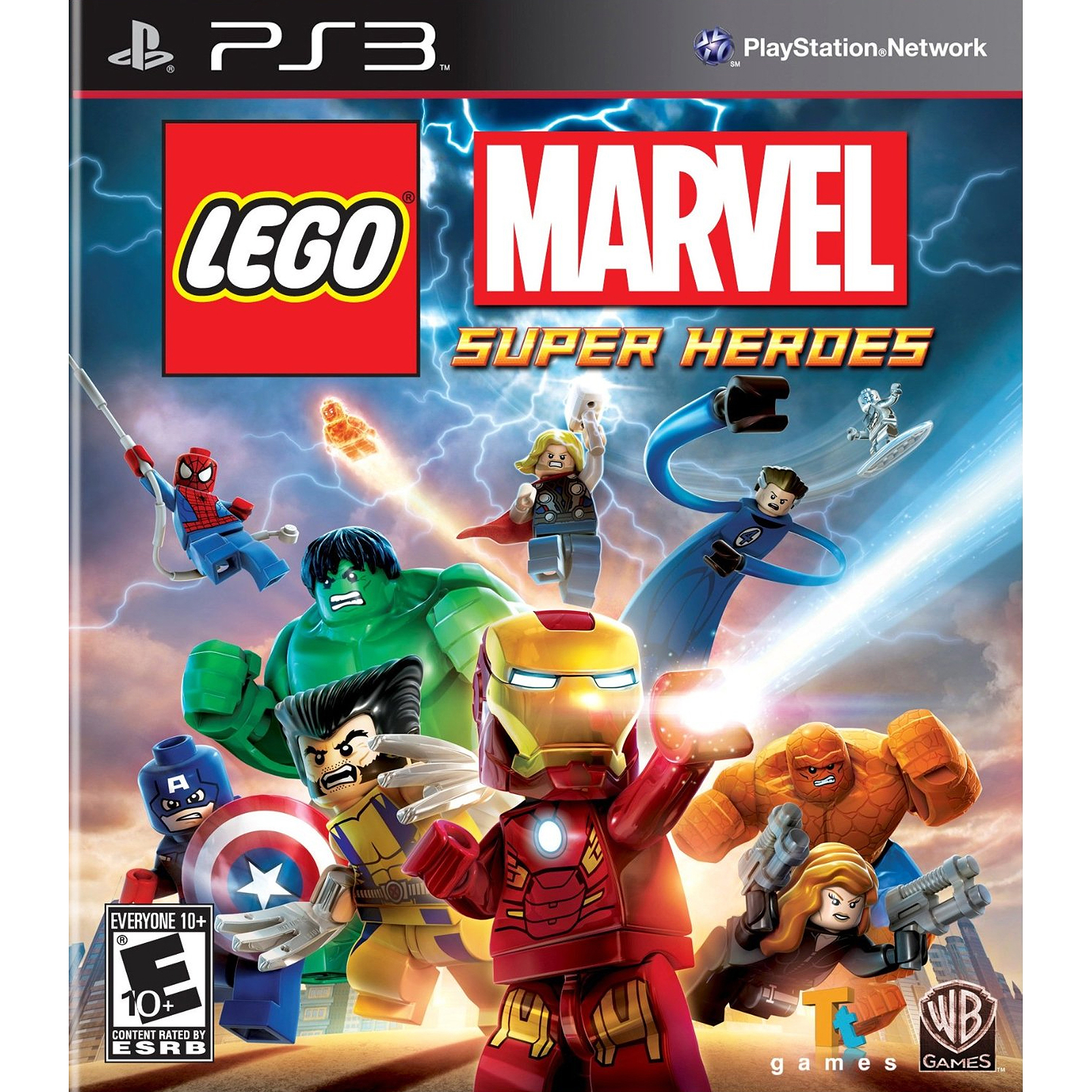 Lego Marvel Super Heroes (PS3) - Pre-Owned