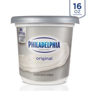 Philadelphia Original Cream Cheese Spread, 16 oz. Tub