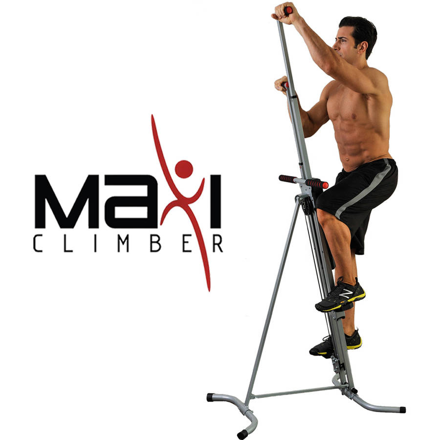 MaxiClimber Total Body Workout - Home Gym Exercise Equipment!