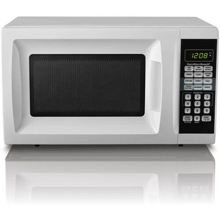 Hamilton Beach 0.7 Cu. Ft. White Microwave Oven (Best Conventional Microwave Oven)