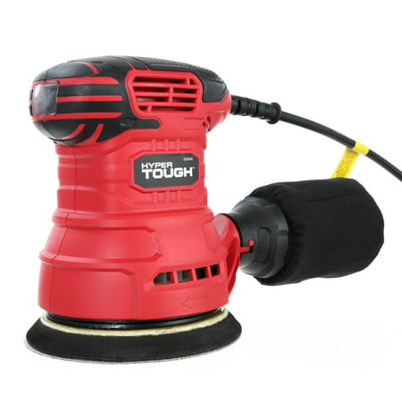 Hyper Tough 2.5-Amp Orbital Sander, AQ20036G (Best Hand Sander For Refinishing Furniture)