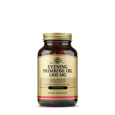 Solgar Evening Primrose Oil 1300 mg - 60 Softgels (Efa Gold Evening Primrose Oil)