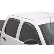Lund 15-17 Chevy Silverado 2500 Crew Cab Ventvisor Elite Window Deflectors - Smoke (4 Pc.)
