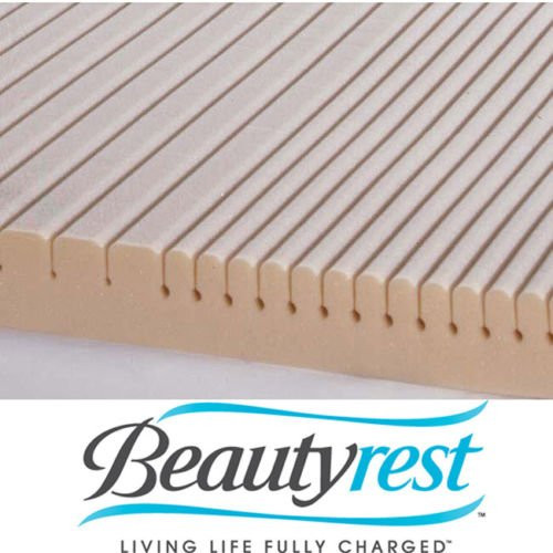 Simmons Beautyrest Geomatt Therapeutic Foam Mattress Pad - Queen