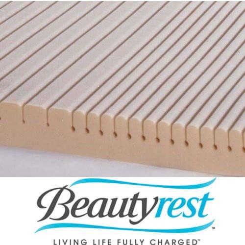 Beautyrest Geomatt Therapeutic Foam Mattress Pad - Queen