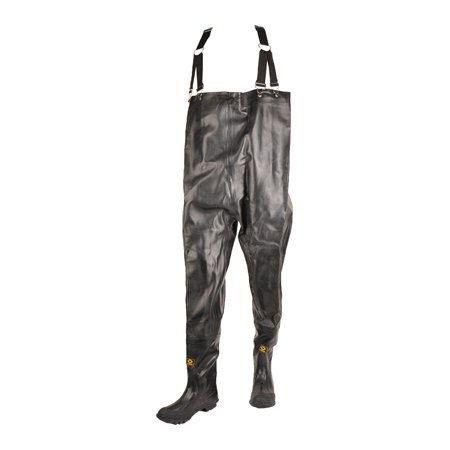 - Herco Heavy Duty Rubber Chest Waders (Black)