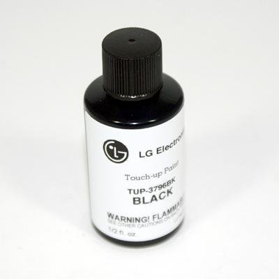LG Refrigerator Black Touch-Up Paint TUP-3796BK (Lg Black Stainless Steel Touch Up Paint)