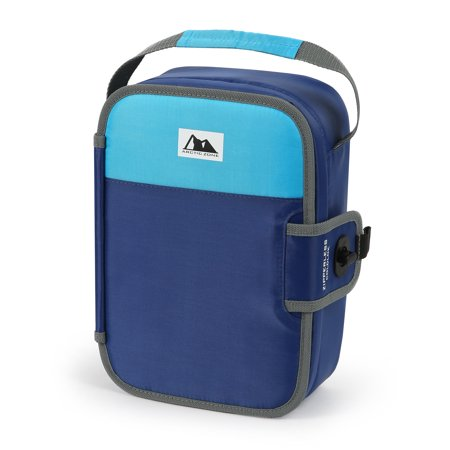 Arctic Zone Zipperless Lunch Blue