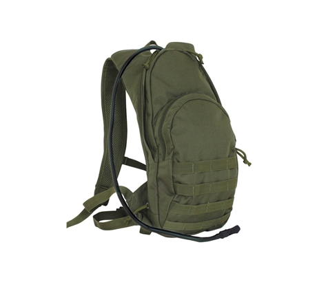 Fox Outdoor Compact Modular Hydration Backpack, Olive Drab 099598563509 by Fox Outdoor Products