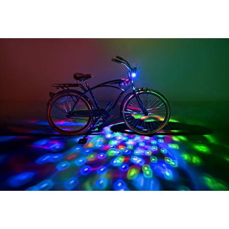 Brightz, Cruzin Brightz Blinking LED Bicycle Light, Red/Blue/Green