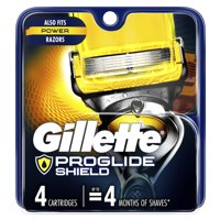 Deals on Gillette ProGlide Shield Mens Razor Blade Refill Cartridges 4-Ct