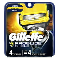 Gillette ProGlide Shield Mens Razor Blade Refill Cartridges 4-Ct Deals