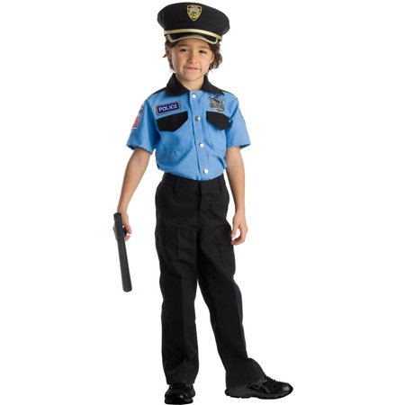 Police Officer Role Play Kids Costume Kit