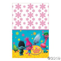 DreamWorks Trolls Plastic Tablecloth