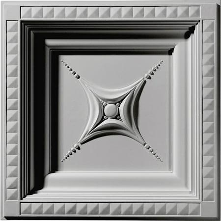 "24""W x 24""H x 2 7/8""P Star Ceiling Tile"