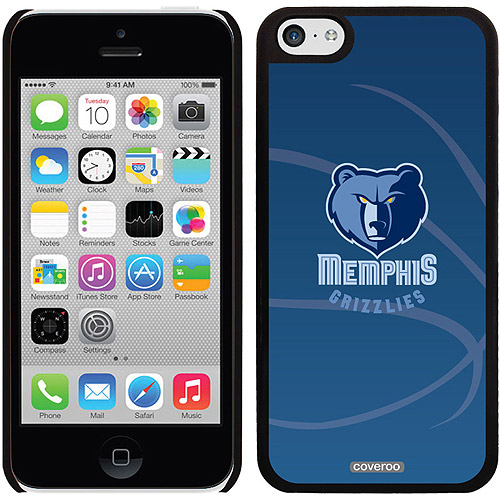 Memphis Grizzlies Basketball Design on iPhone 5c Thinshield Snap-On Case by Coveroo