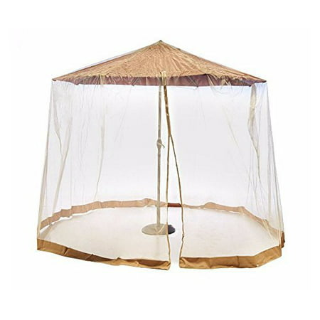 Southern Casual Living Canopy Patio Umbrella Mosquito/Insect Screen & Netting Enclosure with Carrying Bag ()
