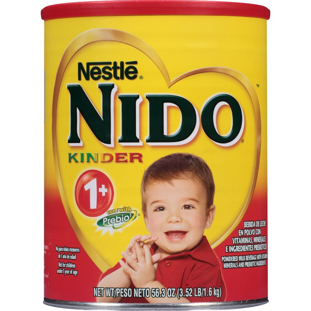 NIDO Kinder 1+ Powdered Milk Beverage 3.52 lb. Canister